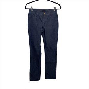LAFAYETTE 148 Dark Wash Straight Jeans